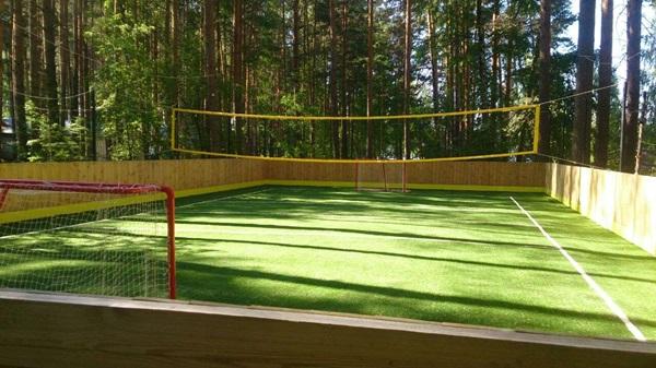 Футбольное, Волейбольное поле